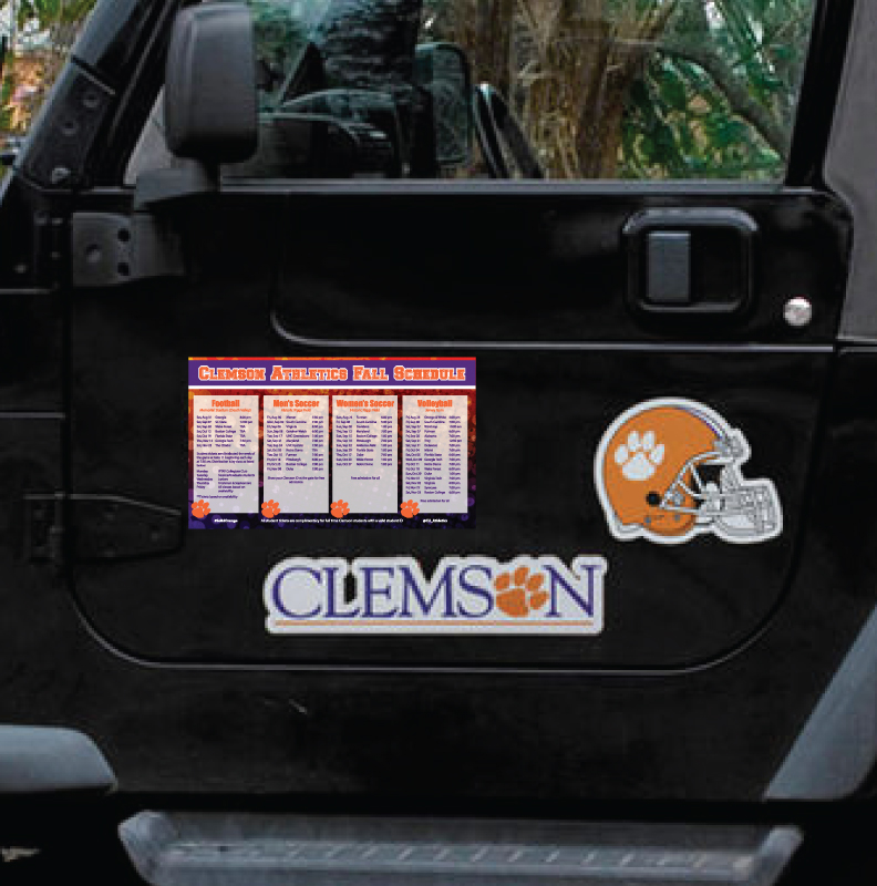 clemson tigers athletic magnet
